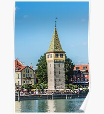 View of Lindau town, Bodensee, Germany Poster