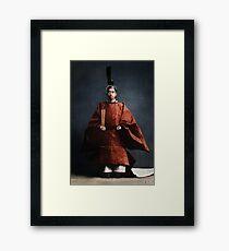 Hirohito, Emperor Showa, 1928 colorized Framed Print