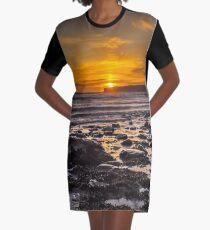 Vestido camiseta Resplandor costero