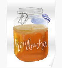Kombucha Jar Poster