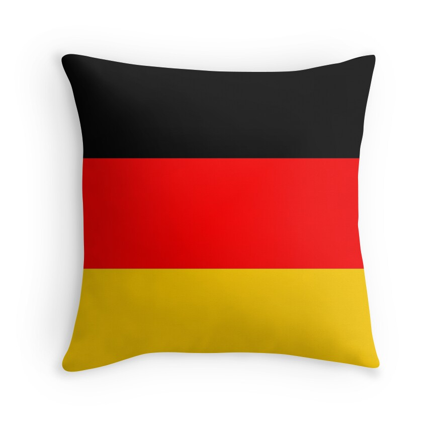 Black Red and Yellow German Flag
