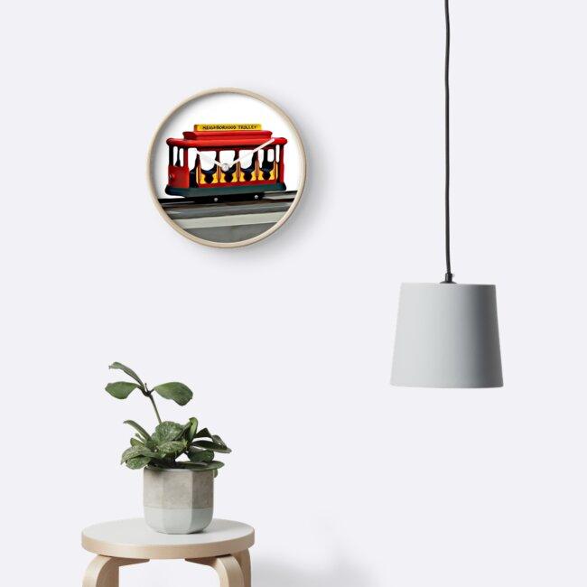 «Vecindario Trolley - Barrio Mr Rogers» de fixedgearnyc