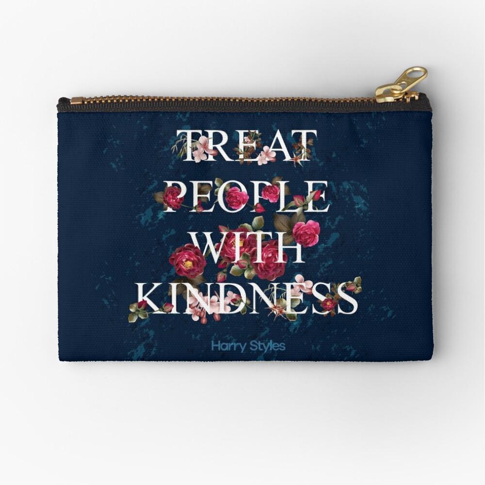 Behandle Menschen mit Freundlichkeit - Harry Styles Täschchen