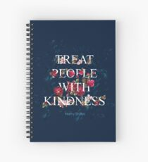 Treat People With Kindness - Harry Styles Spiral Notebook