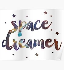 Space Dreamer Poster