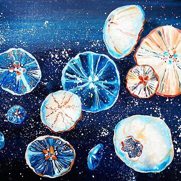Space jellyfish by Kuhtina