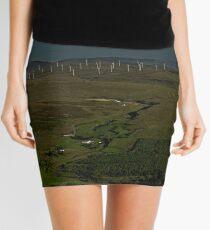Wind Farms on Inishowen Peninsula Mini Skirt