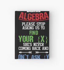 Algebra Hardcover Journal