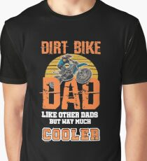 Motocross Father Graphic T-Shirt