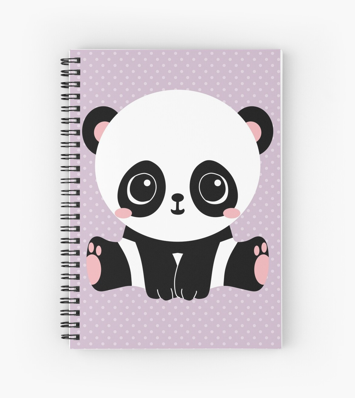 e5ad26c3038990 Niedlicher Panda (Lila)