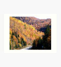 Autumn Splendor-Cabot Trail Art Print