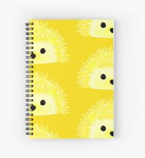 Edgy the Hedgehog Spiral Notebook