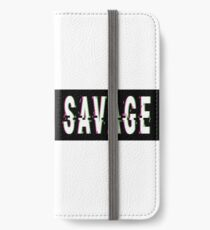 Savage Glitch iPhone Wallet/Case/Skin