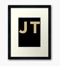 Justin Timberlake JT Framed Print