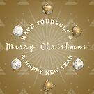 A Golden Christmas by Daniel Lucas
