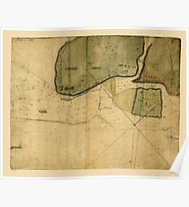 Map Of Tybee Island 1750 Poster