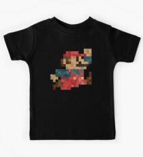 Super Magic Plumber Jump V01 Kids Tee