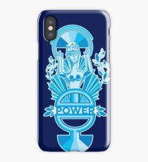 Power in Blue iPhone Case