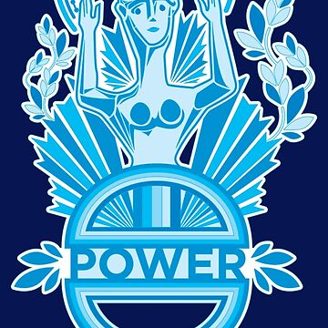Power in Blue by Olivia-Grimley