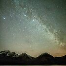 Milky Way Over Bla Bheinn and Loch Slappin by derekbeattie