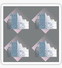 Elphi abstract Sticker