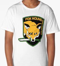 Metal Gear Solid - Fox Hound Emblem Long T-Shirt