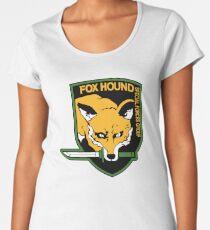 Metal Gear Solid - Fox Hound Emblem Women's Premium T-Shirt