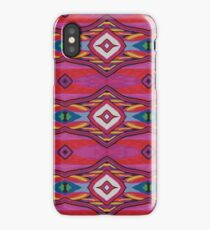 Repeat Pattern Two iPhone Case