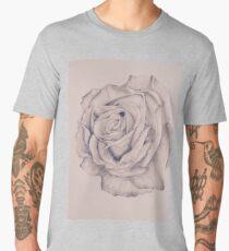 Pencil Rose  Men's Premium T-Shirt
