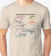 Know Your River Dolphins Unisex T-Shirt