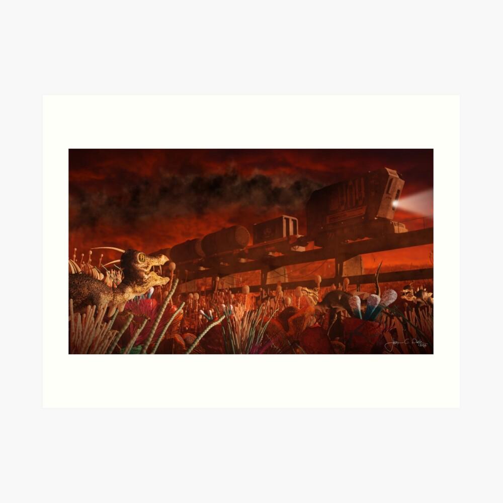 Fiorina 161 (Supply Train) Art Print