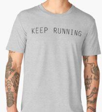 Keep Running Men's Premium T-Shirt