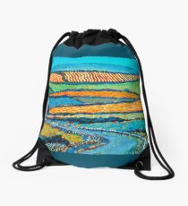 Knocknarea, Sligo, Ireland Drawstring Bag