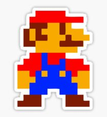 Super Mario Bros Pixel Sticker