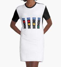 Stoplights Graphic T-Shirt Dress