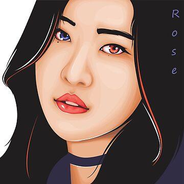 Rose of BLACKPINK (Kpop) by andylee21