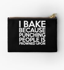 Funny Baking and Cake lover Studio Pouch