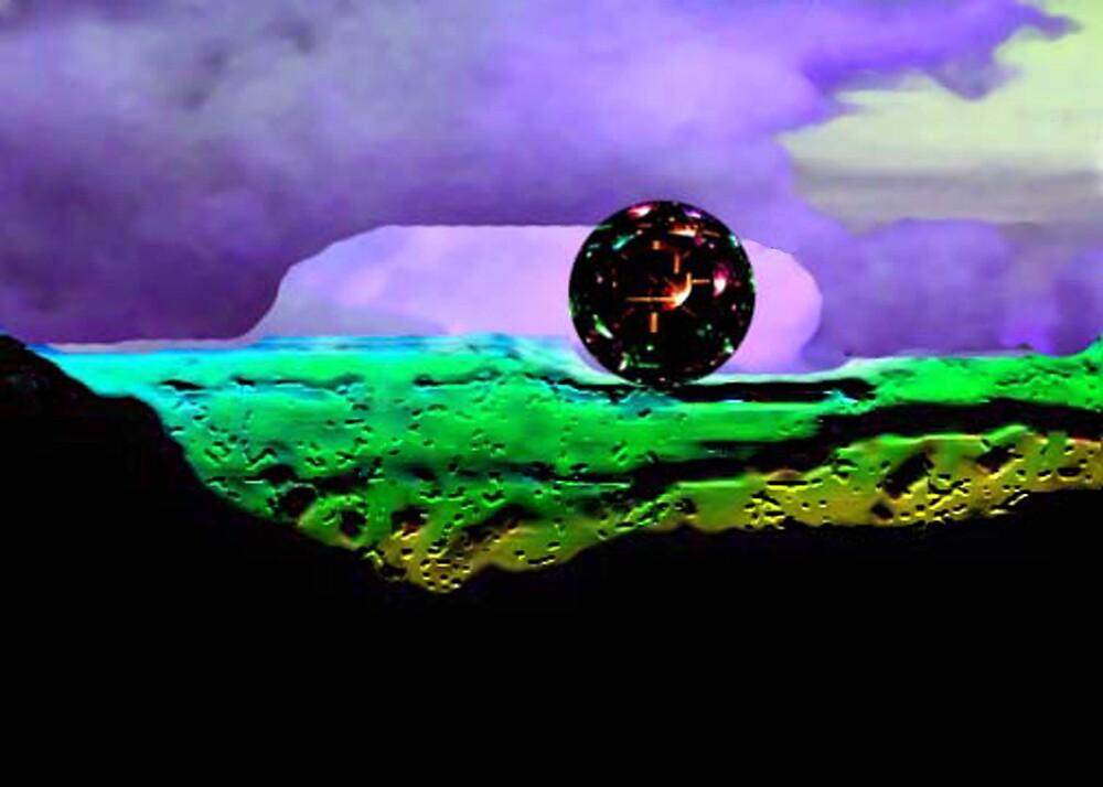 Alien Light Orb by Daneann
