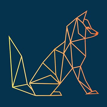 Geometric Fox by P-Bubs