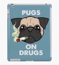 Pug On Drugs iPad Case/Skin
