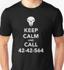 Keep calm and call 42-42-564 Call the Shinigami Unisex T-Shirt