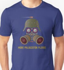 More Phlogistan Please Funny Steampunk Science Physics T-shirts and Gifts Unisex T-Shirt