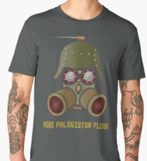 More Phlogistan Please Funny Steampunk Science Physics T-shirts and Gifts Men's Premium T-Shirt