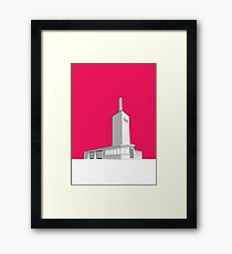 Osterley station Framed Print