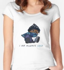 I Am Always Cold Women's Fitted Scoop T-Shirt