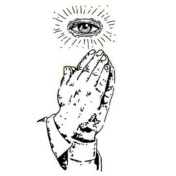 Praying to illuminati by F0rt3ck