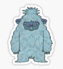 The Happiest Little Yeti Sticker