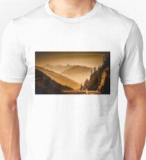 Arlberg Pass Mountain Landscape Unisex T-Shirt