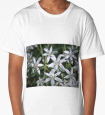 Macro photo of a white flower Long T-Shirt