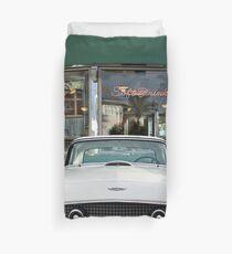 Classics at Mel's Drive In Duvet Cover